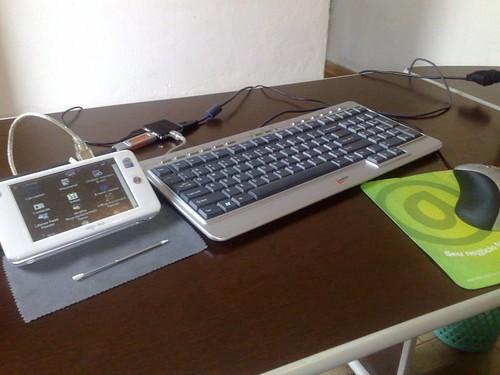 Aigo P8860 + Hub USB
