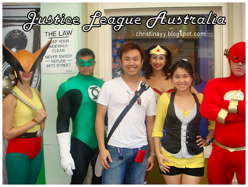Warner Bros. Movie World: Justice League Australia
