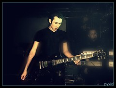 Stephane & Cedric (Dolls Of Pain) (pyxiel) Tags: show music france musicians dark fun concert keyboard industrial play darkness lyon guitar live gothic goth plaisir 2009 pleasure stphane cyber cybergoth cyberpunk musique clavier liveshow cdric spectacle cybergothic darkwave lyonshall dollsofpain pyxiel