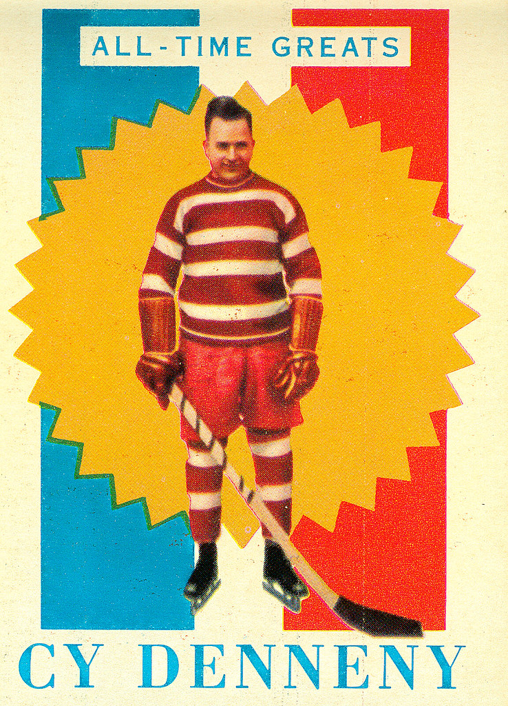 TOPPS NHL Playing Cards 1960-61 — All-Time Greats 13