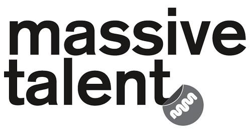 MassiveTalent Logo BW