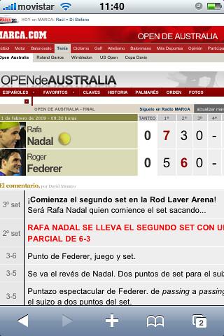WTF Nadal - Federer por ti.