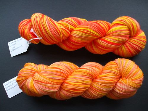 GlowsCrafts Tropical Sunet Sock Yarn