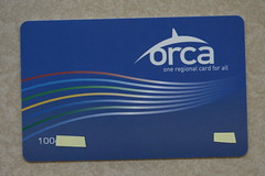 This ORCA card needs a sleeve. Photo by Atomic Taco.