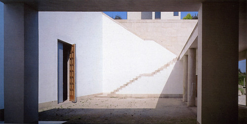 Church, Portugal, by Alvaro Siza - side steps