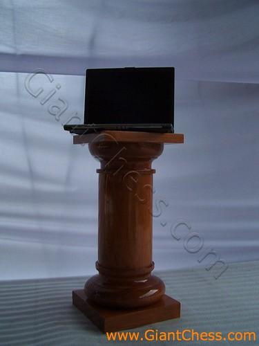 Wooden pillar column outdoor furniture decorations