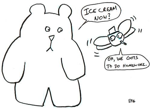 366 Cartoons - 154 - Ice Cream Now?