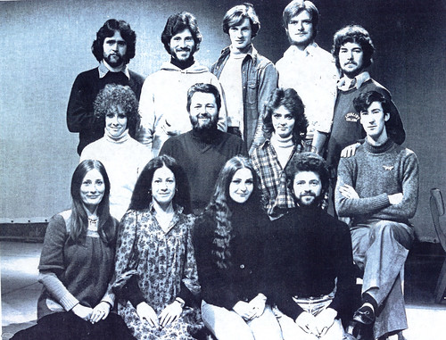 Class of 75, RSAMD, School of Drama, 1975.
