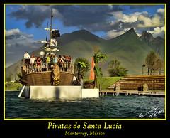 Piratas en el Paseo Santa Lucía
