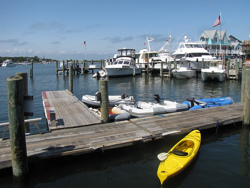 Kayak at Martha's Vineyard harbor