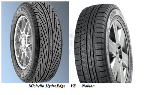 Michelin vs. Nokian-Vanagon Tires