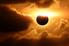 Total Eclipse..... (Heaven`s Gate (John)) Tags: sunset sky sun moon nature silhouette clouds sunrise solar eclipse creative dramatic imagination total solareclipse totaleclipse 19709 johndalkin heavensgatejohn justclouds 300faves 72209 22709 19july2009 22july2009