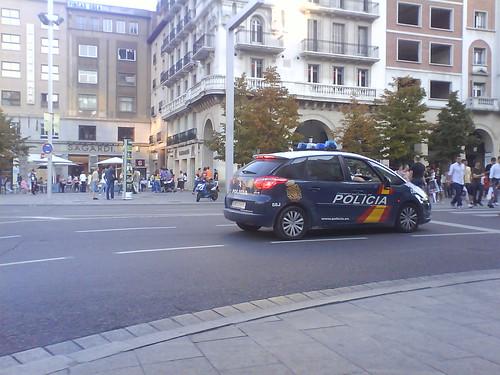 Citroen C4 Picasso Policia Nacional