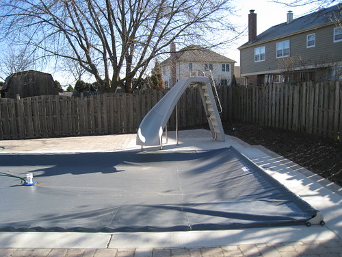 Fiberglass Pool:  Start to Finish