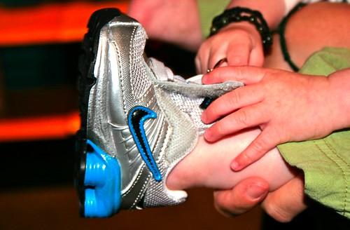 Zo new Nikes