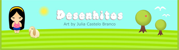 Desenhitos: ilustração, arte digital e pintura digital de Julia Castelo Branco