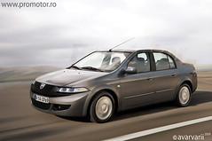 Dacia Sedan Front
