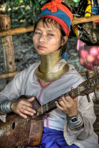 Padong Woman
