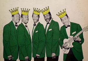 The 5 Royales looking....um, Royal