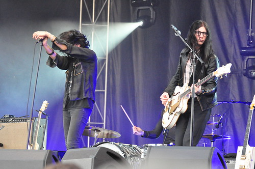 The Dead Weather at Ottawa Bluesfest 2009