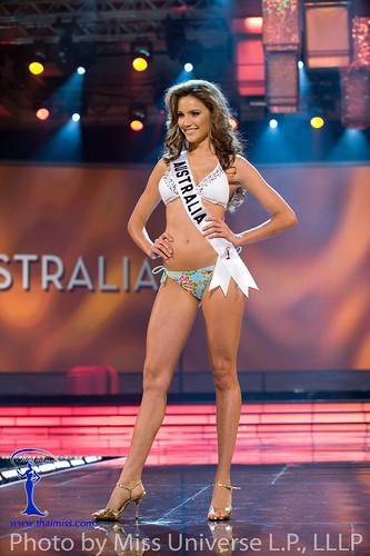 Miss Australia 2009 Rachael Finch in BSC Swimwear