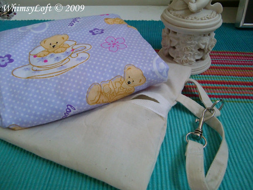 Purple Teddy Eco Bag 1