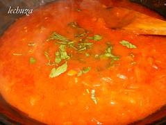 mejillones en salsa marinera-salsa
