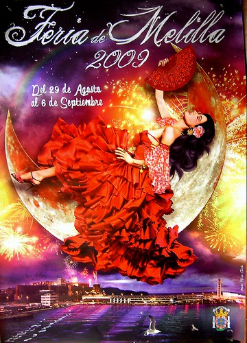 Cartel de Feria de Melilla 2009