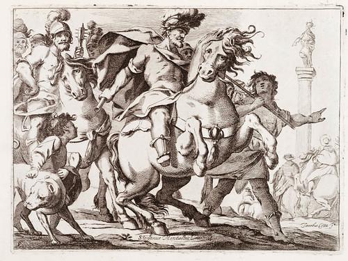 008 La pompa della solenne entrata fatta dalla serenissima Maria Anna austriaca  figlia dellinuittissimo imperante Ferdinando terzo et sposa del potentissimo Filippo ...1651