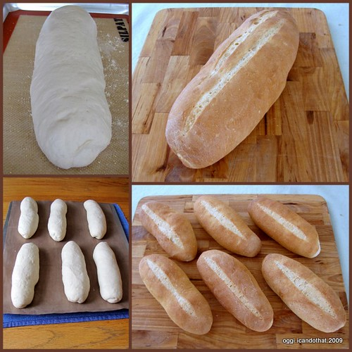 Italian Bread And Hoagie Rolls