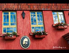 No Vale dos Vinhedos - Rio Grande do Sul (Gutemberg Ostemberg) Tags: house flores flower textura window fleur arquitetura canon casa flor janela rs riograndedosul sul gutemberg valedosvinhedos xti bemflickrbembrasil