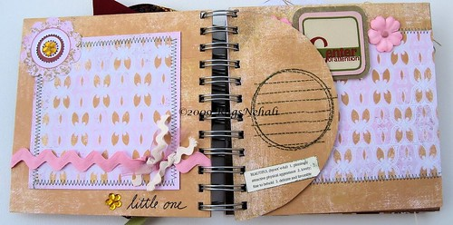 """Our Baby"" Chipboard Scrapbook Album"