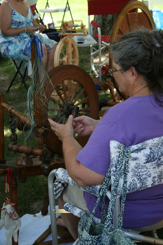 diane spinning flax