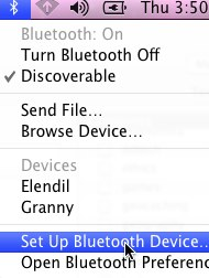 Set Up Bluetooth Device on a Mac