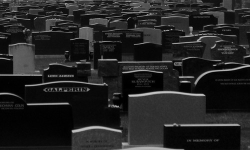 There Are a Million Epitaphs in the Naked City of the Dead
