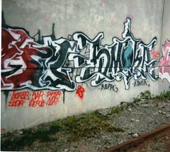 Smoke (Disco Bryso) Tags: seattle tits smoke 206 1998 def trackside erupto tnk erupto327 kfm eruptoe