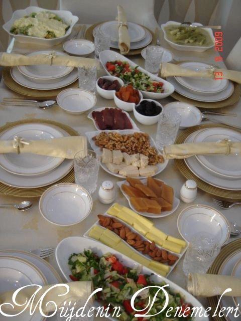 İFTAR SOFRASI 2009