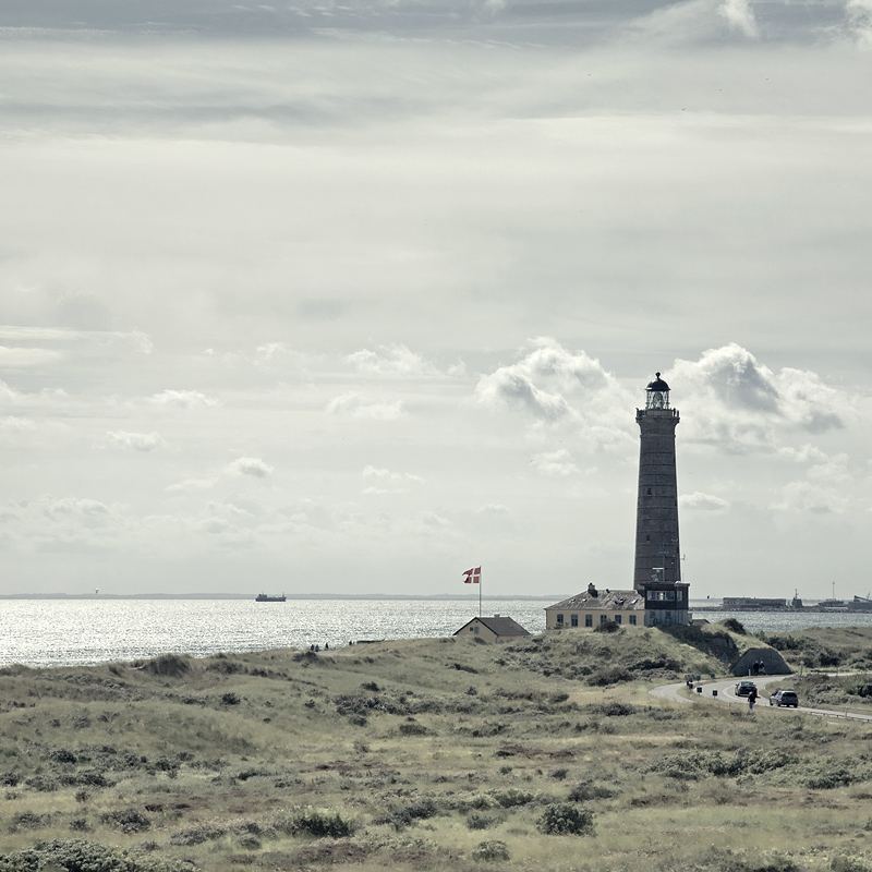 Lighthouse in Grenen