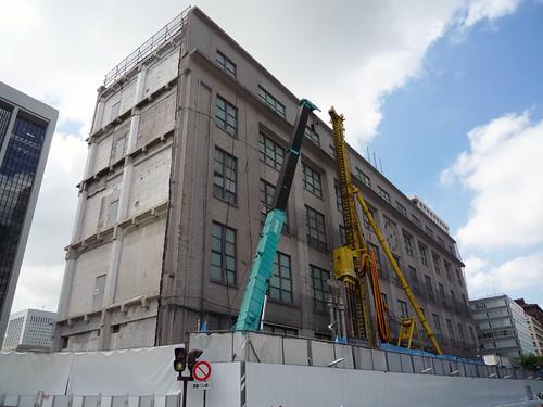 どうなる[軒わらび] : 旧東京中央郵便局の建て替え。