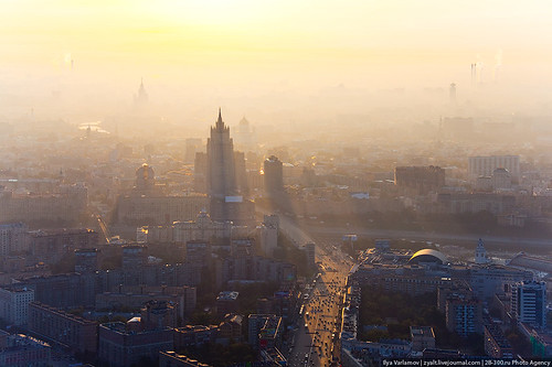 Dawn from Capital City Tower