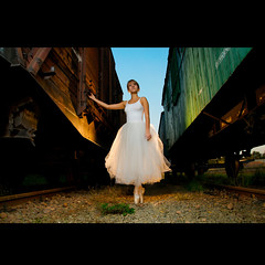 (Marcin Sowa) Tags: lighting light ballet woman girl train project iso200 dance nikon ballerina flash dancer explore trainstation flashlight f56 nikkor emotions krakw cracow strobe cls cto balet d300 resco explored krakoff strobist strobists caraco 18105mm sb900 danceproject ex580ii caracoemotions tzf11