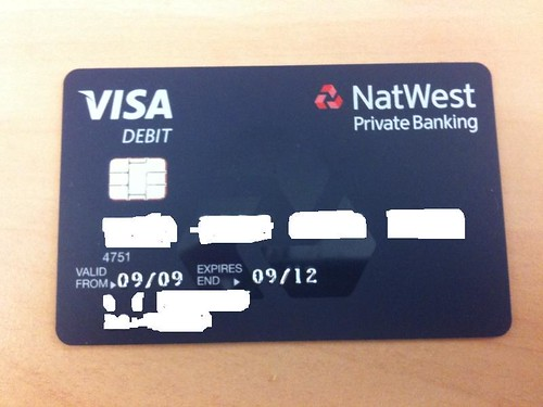 how to find natwest account number on card
