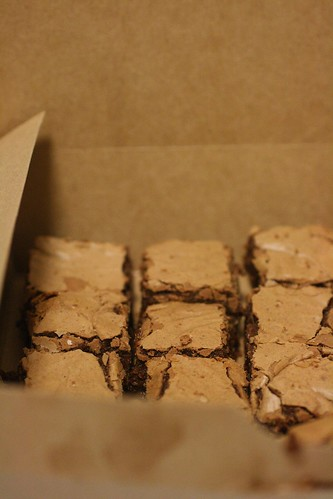 Milk Chocolate Cinnamon Brownies