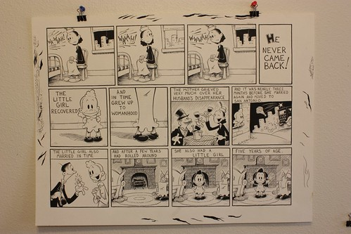 "Art For Sale: Graphic Classics: O.Henry ""A Strange Story"" page 1B"
