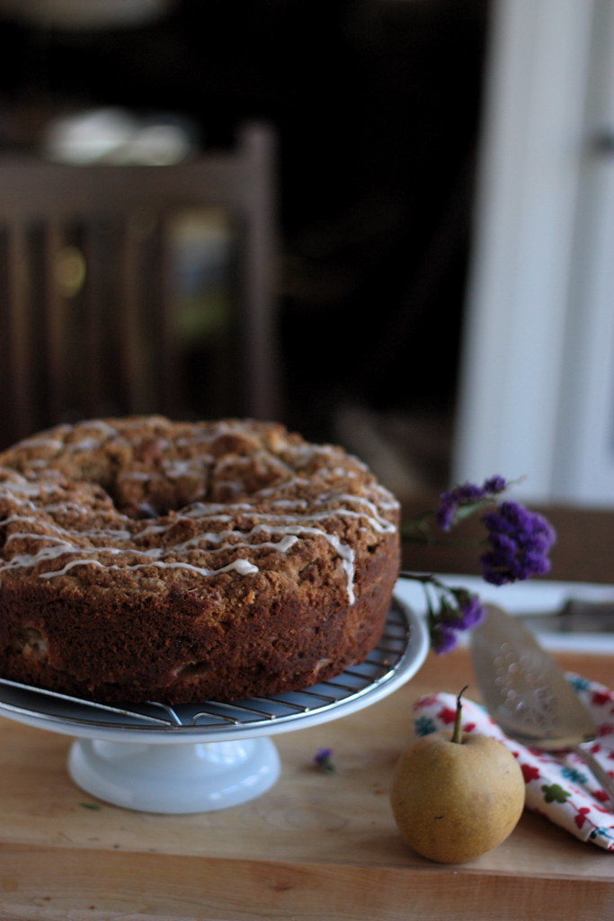 Asian Pear Coffee Cake