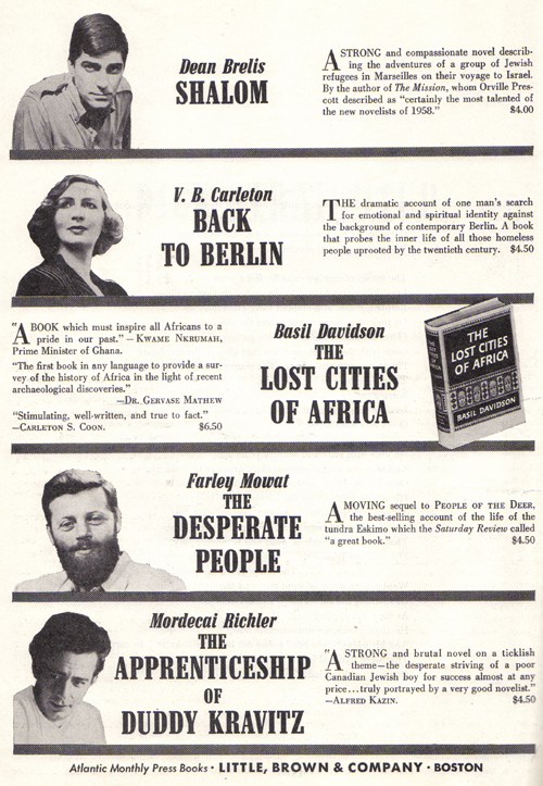 Vintage Ad #936: Atlantic Monthly Press Selections