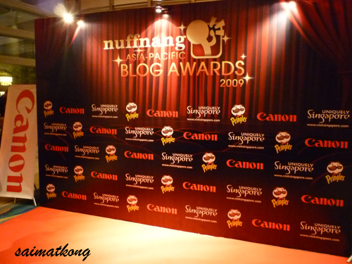 Nuffnang Awards + Dinner @ Pan Pacific Singapore