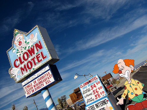 Clown Motel - Tonopah, Nevada