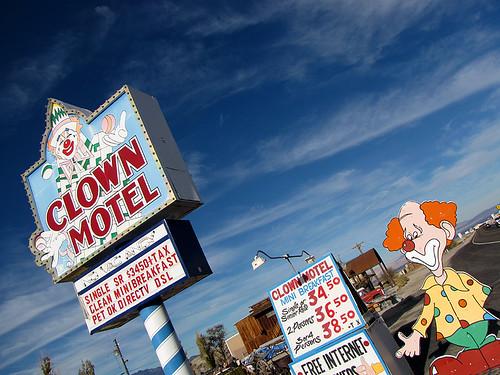 Clown Motel - Tonopah, Nevada