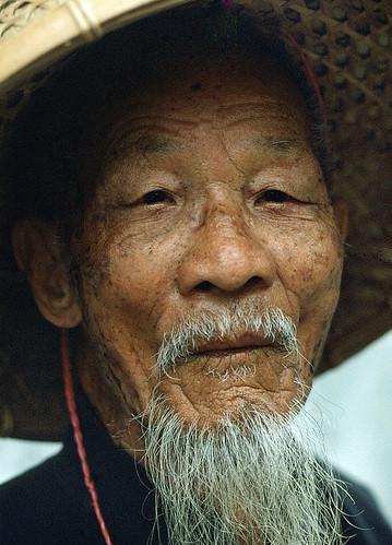 Wise Asian Man 100